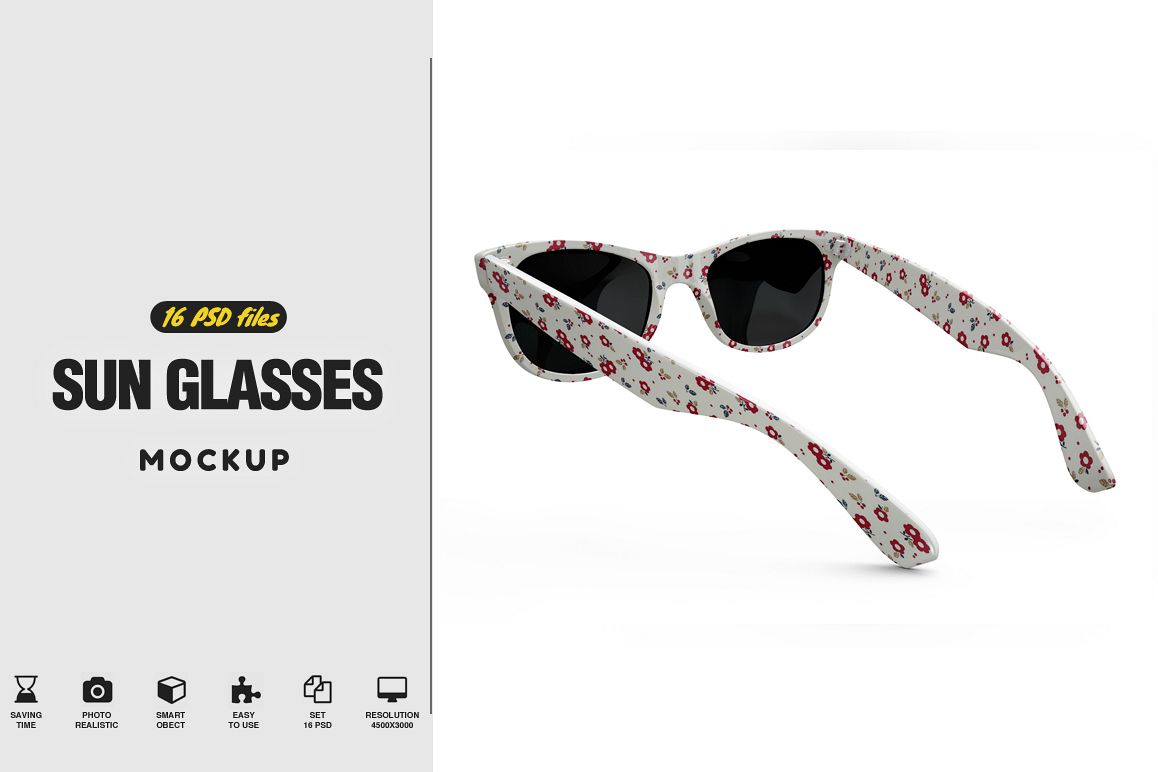 Sun Glasses Mockup example image 1