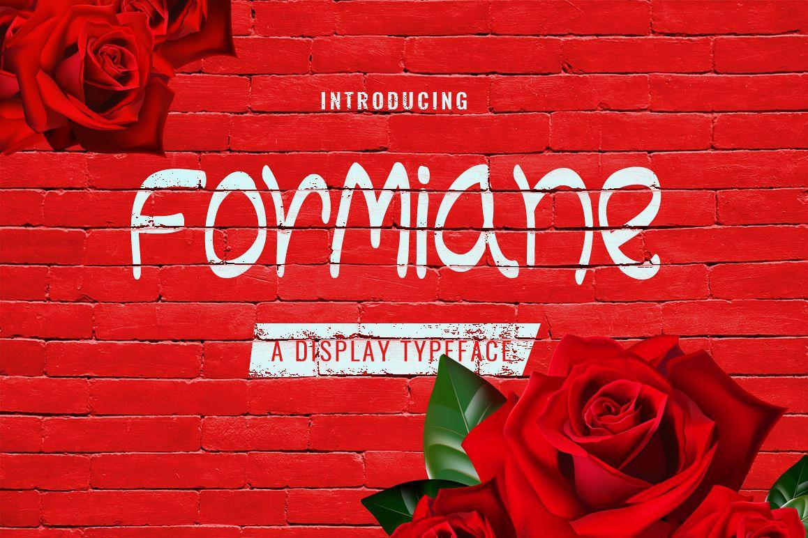 Formiane Typeface example image 1