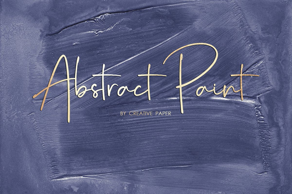 Navy Oil Paint - Handmade Abstract Backgrounds example image 1