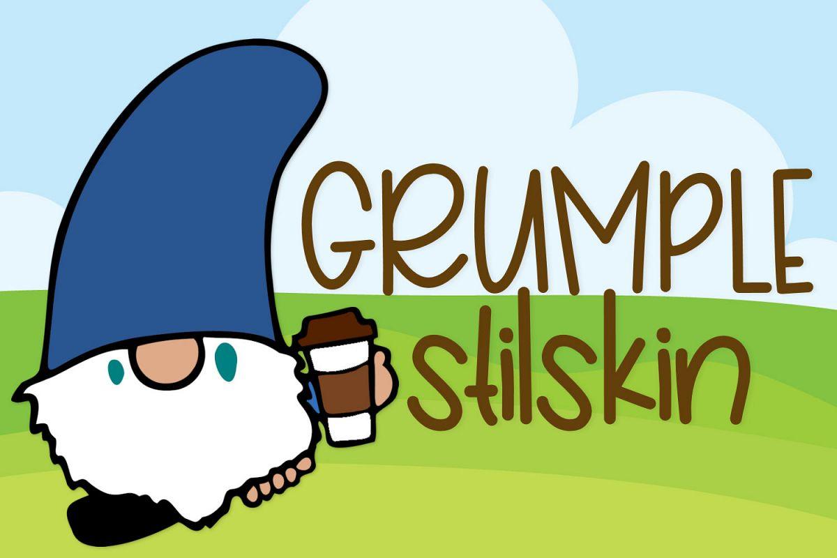 Grumplestilskin - A Handwritten Font example image 1