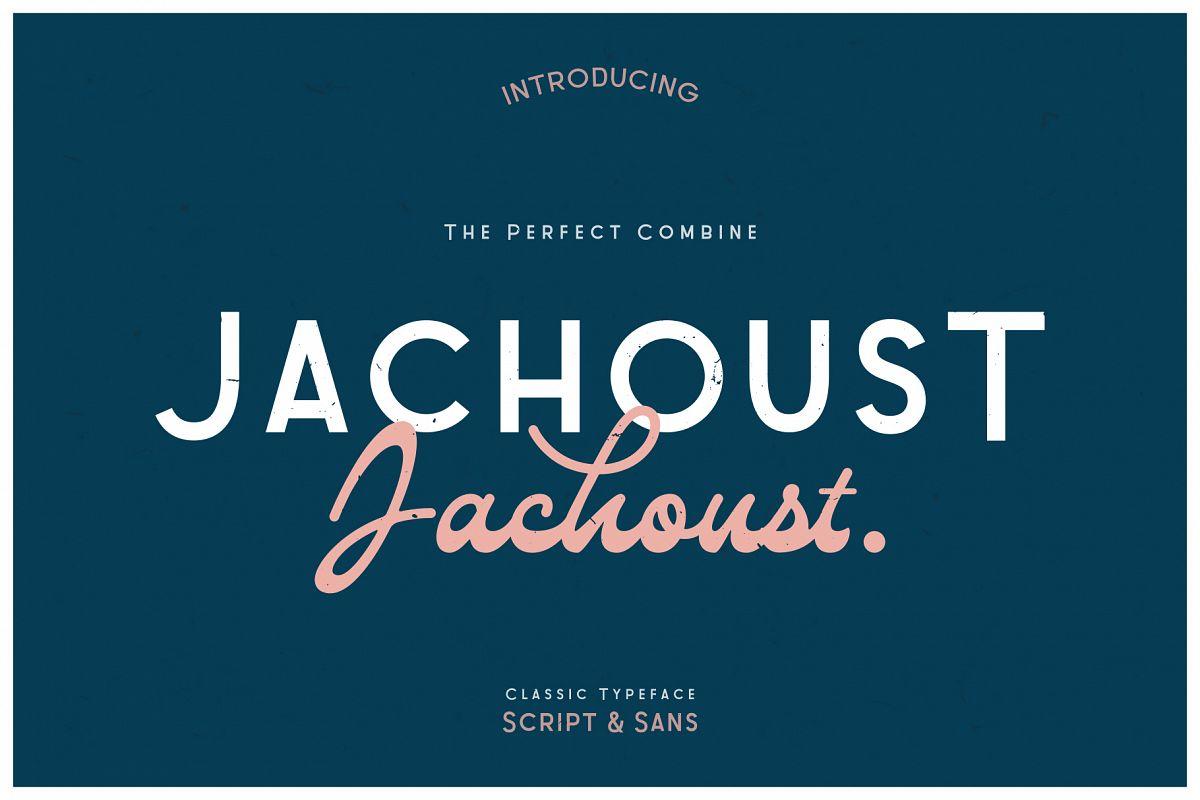 Jachoust Font Duos example image 1