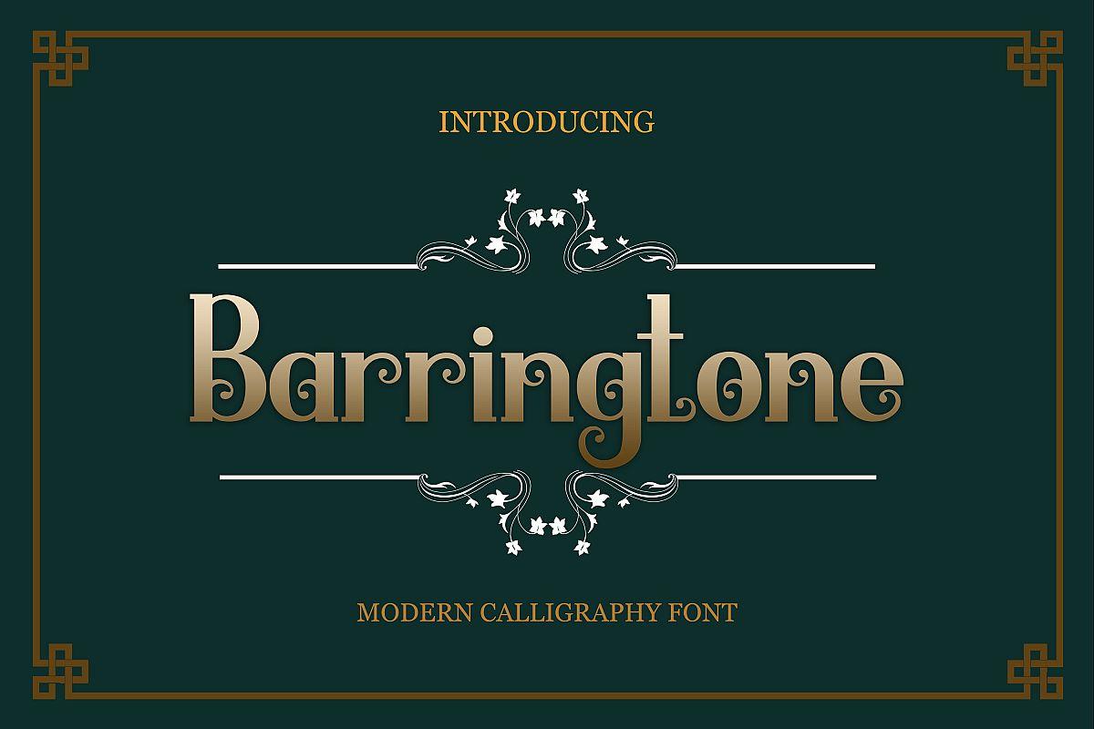 Barringtone example image 1