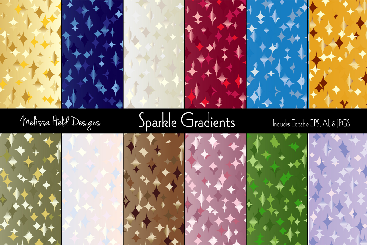 Sparkle Gradient Backgrounds example image 1