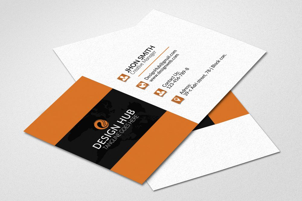 Business cards design by designhub719 design bundles business cards design example image reheart Gallery