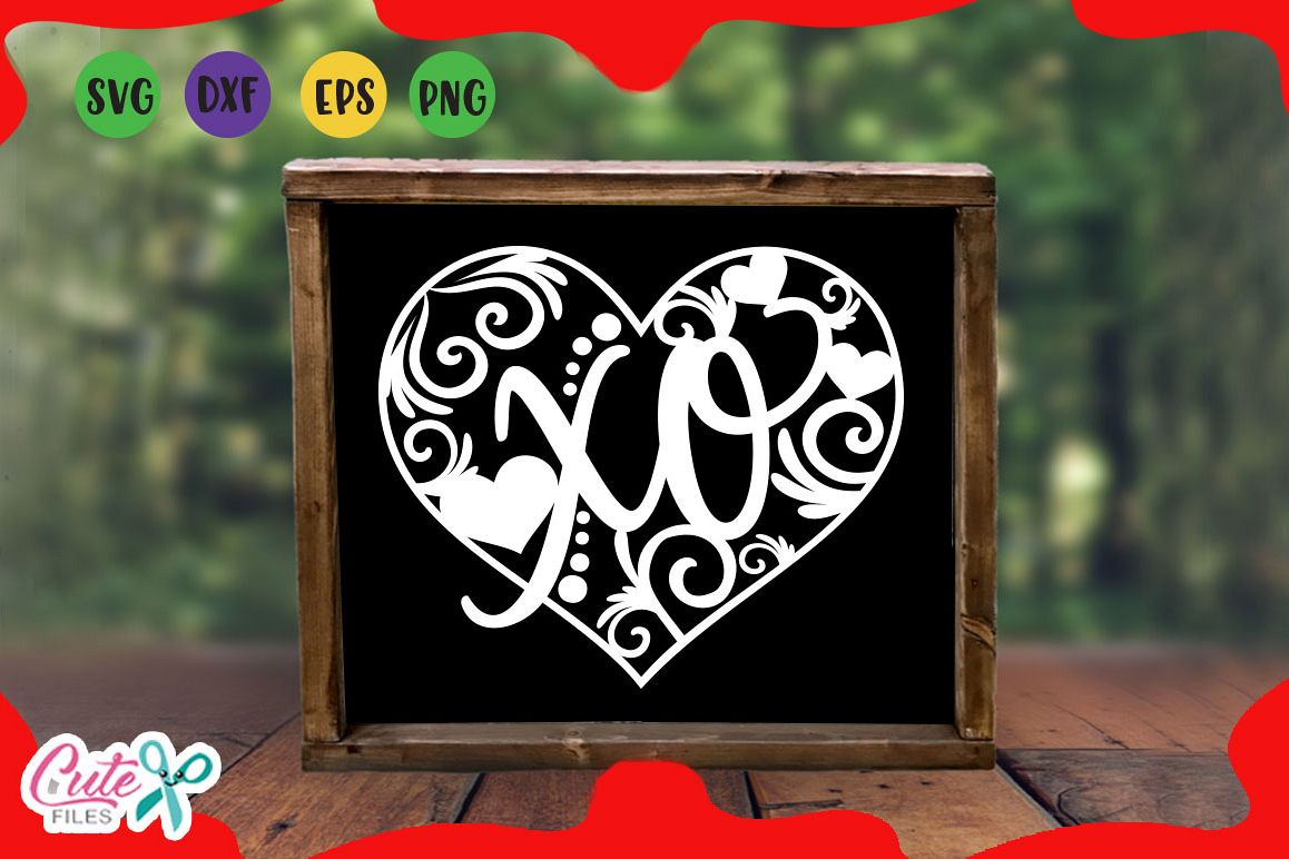 Heart Wood Signs Svg Valentines Day For Crafter