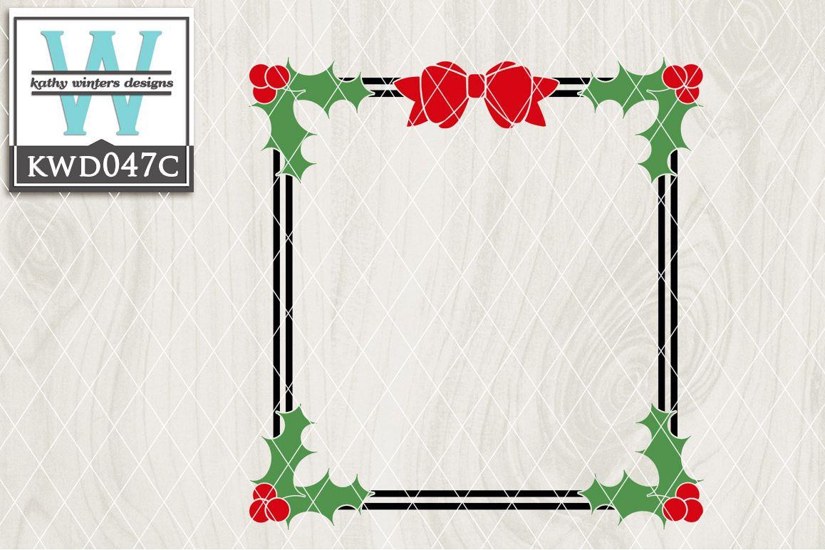 Christmas Cutting File KWD047C example image 1
