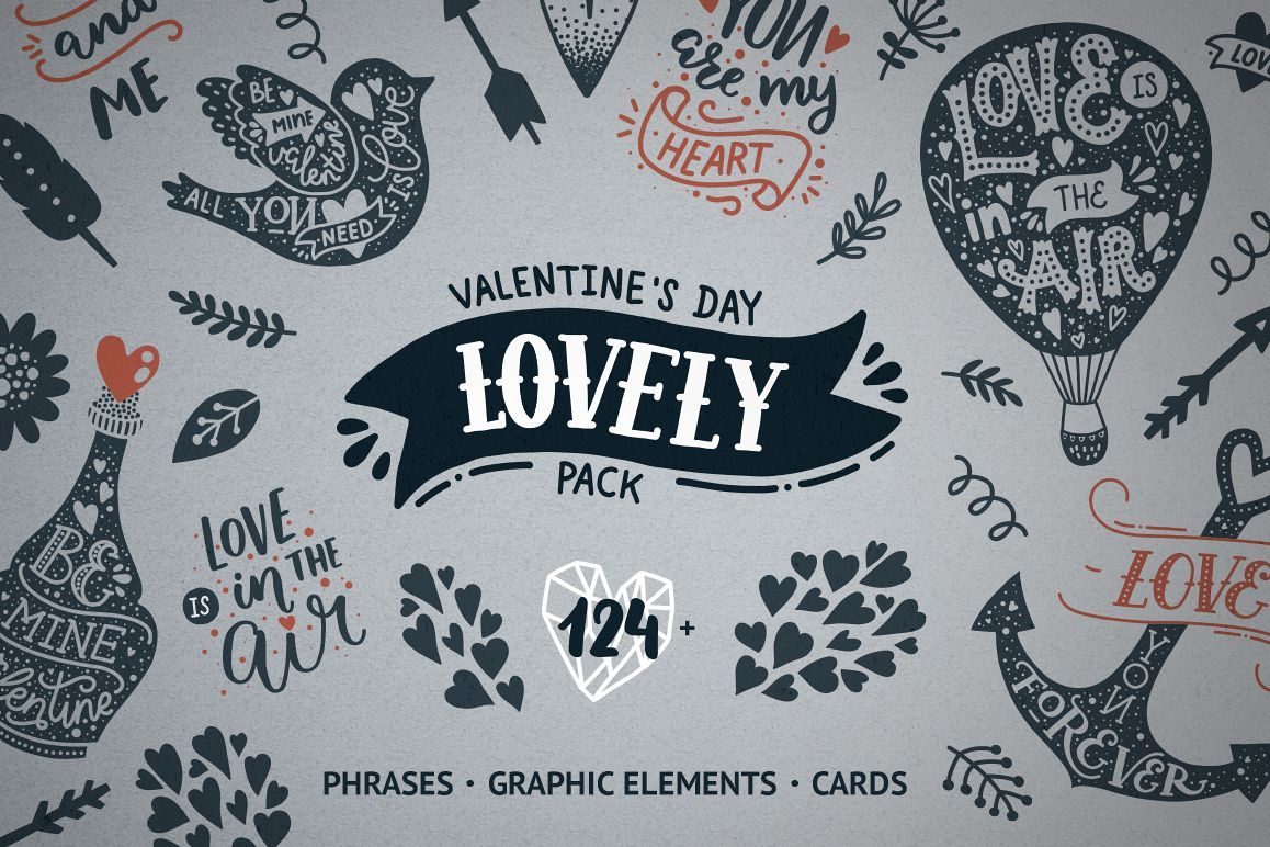Valentine's day pack example image 1