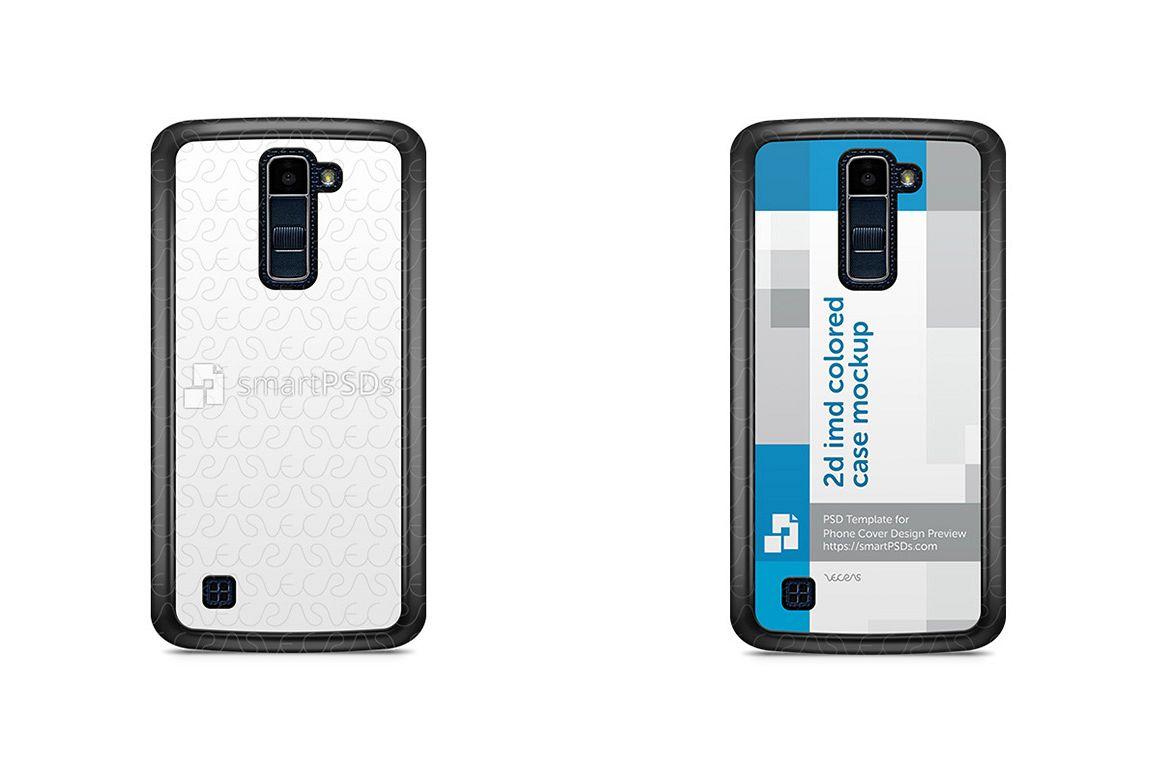 LG K10 2d IMD Colored Mobile Case Design Mockup 2016 example image 1