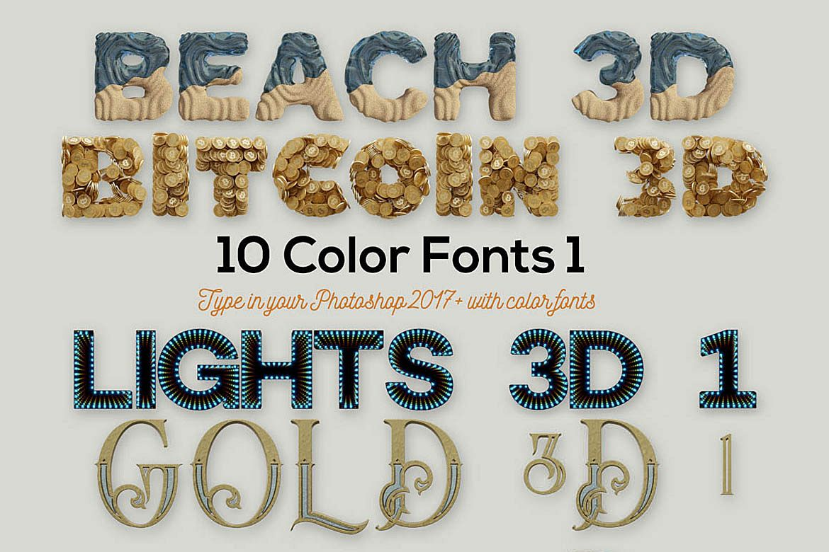 10 Color SVG Fonts 1 example image 1
