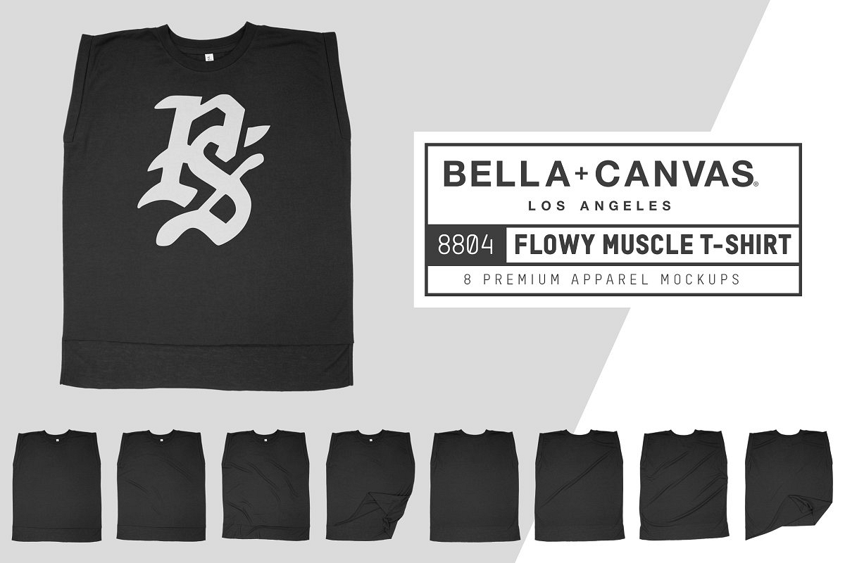 Bella Canvas 8804 Flowy Muscle Tee example image 1