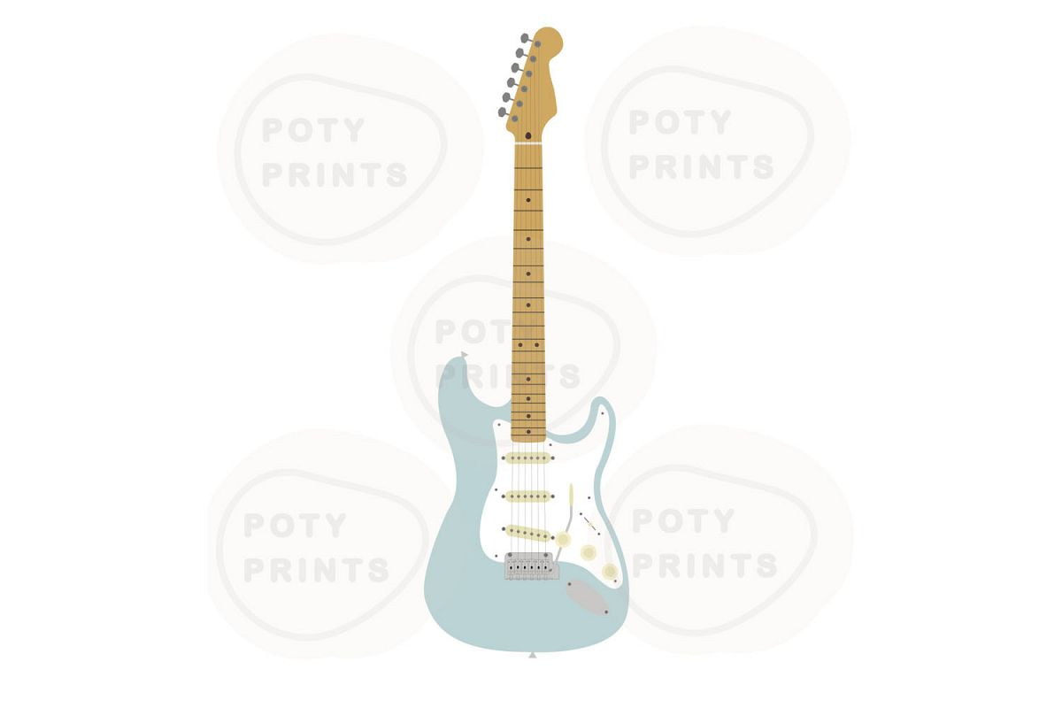Electric guitar files example image 1
