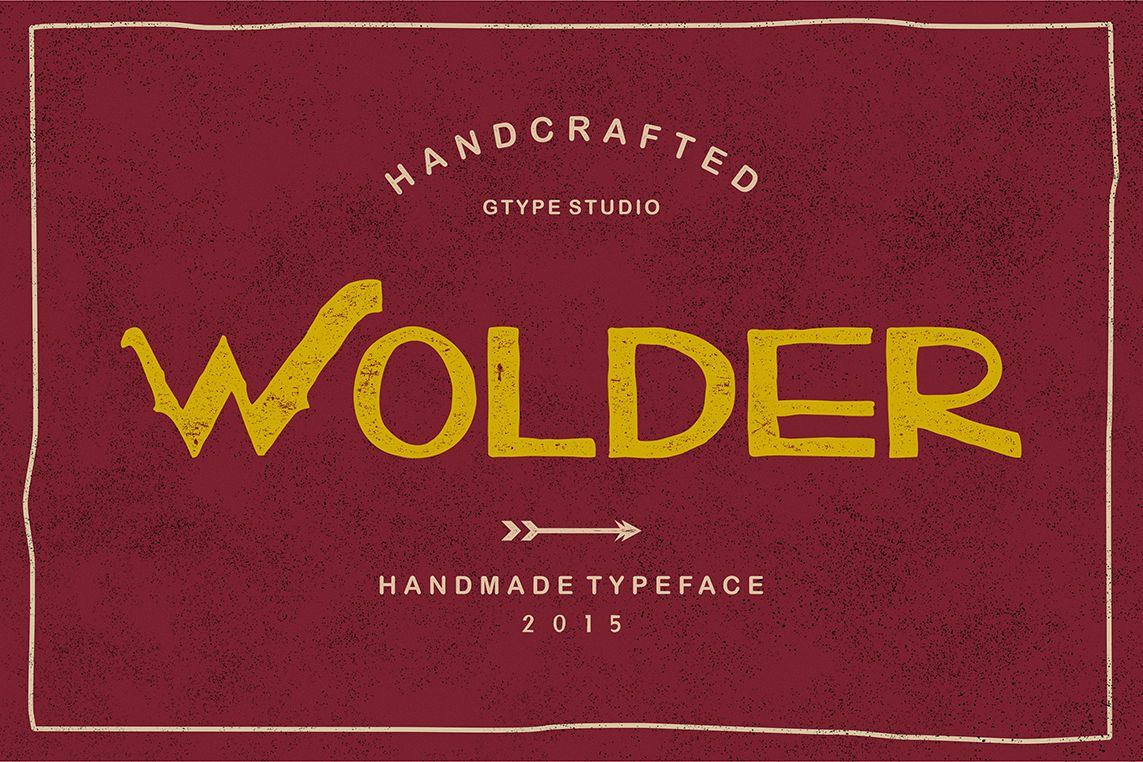 Wolder Typeface example image 1