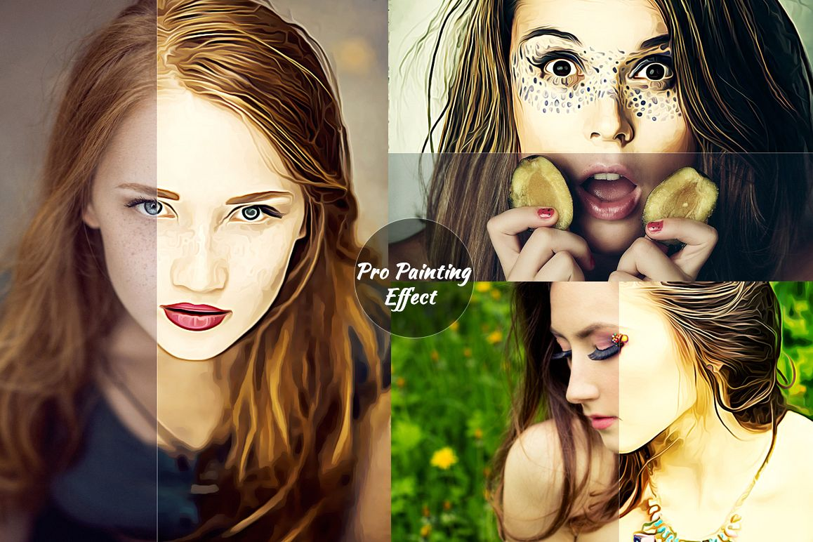 Creative Oil Paint Photoshop Action example image 1