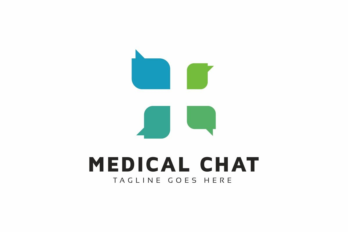Medical Chat Logo example image 1