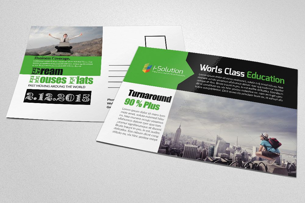 Professional Business Postcards example image 1