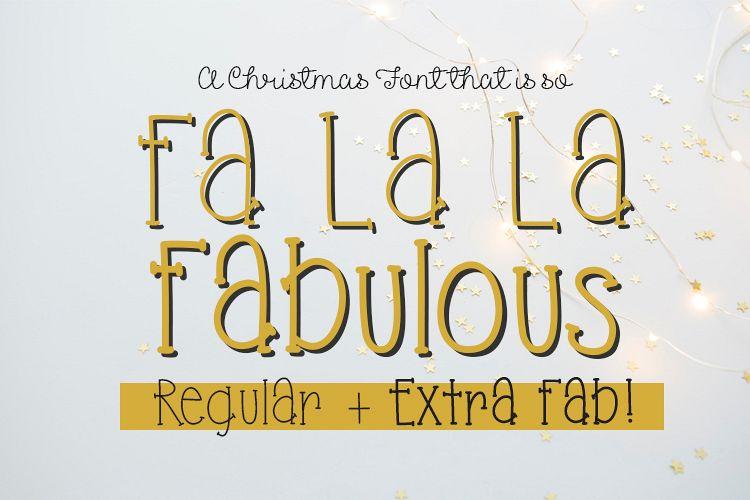 Fa La La Fabulous example image 1
