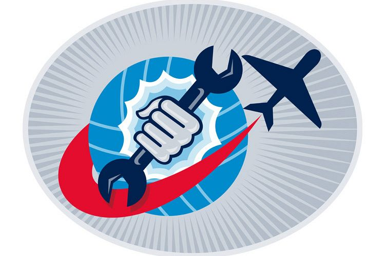 aviation aircraft mechanic hand spanner example image 1