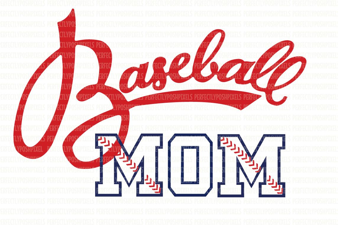 Baseball SVG Files Baseball Mom Printable Clipart DXF EPS