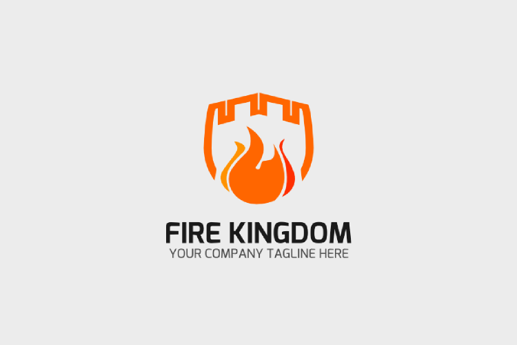 Fire Logo Template example image 1