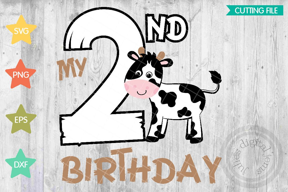 Farm 2nd Birthday Clipart | www.topsimages.com