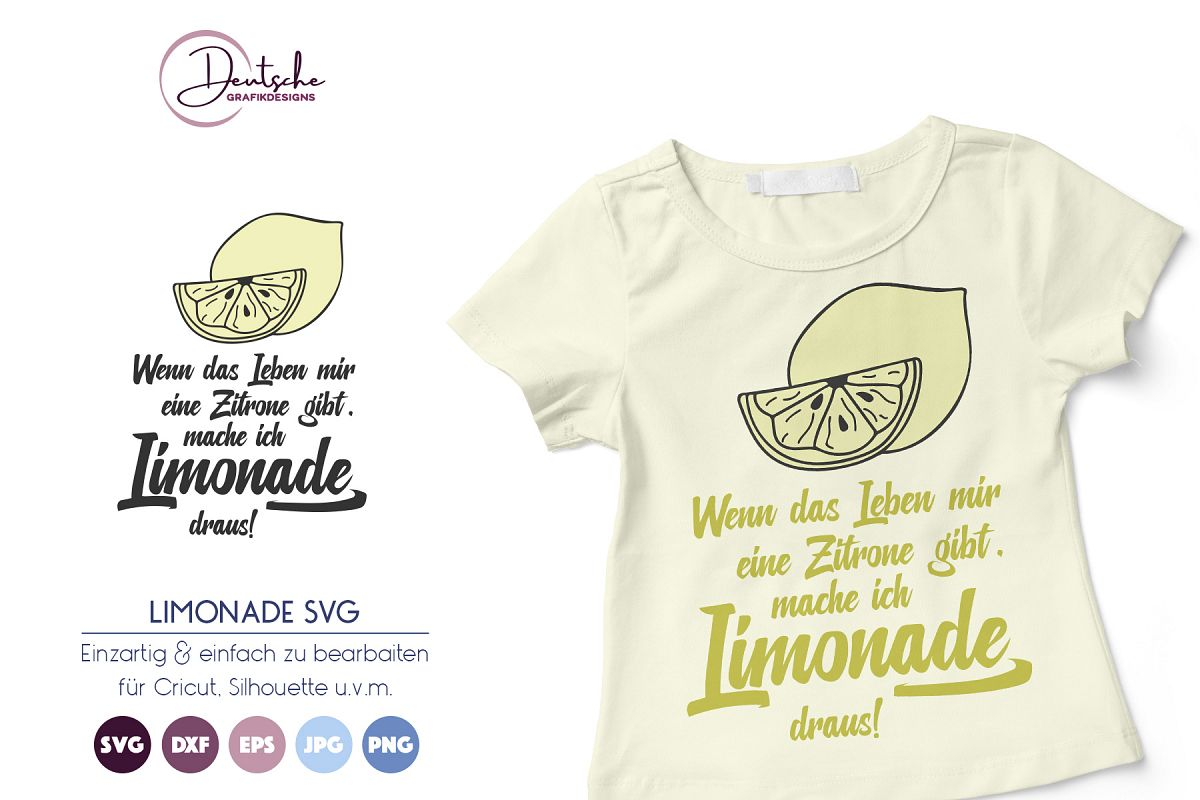 Limonade SVG| Sommer SVG example image 1