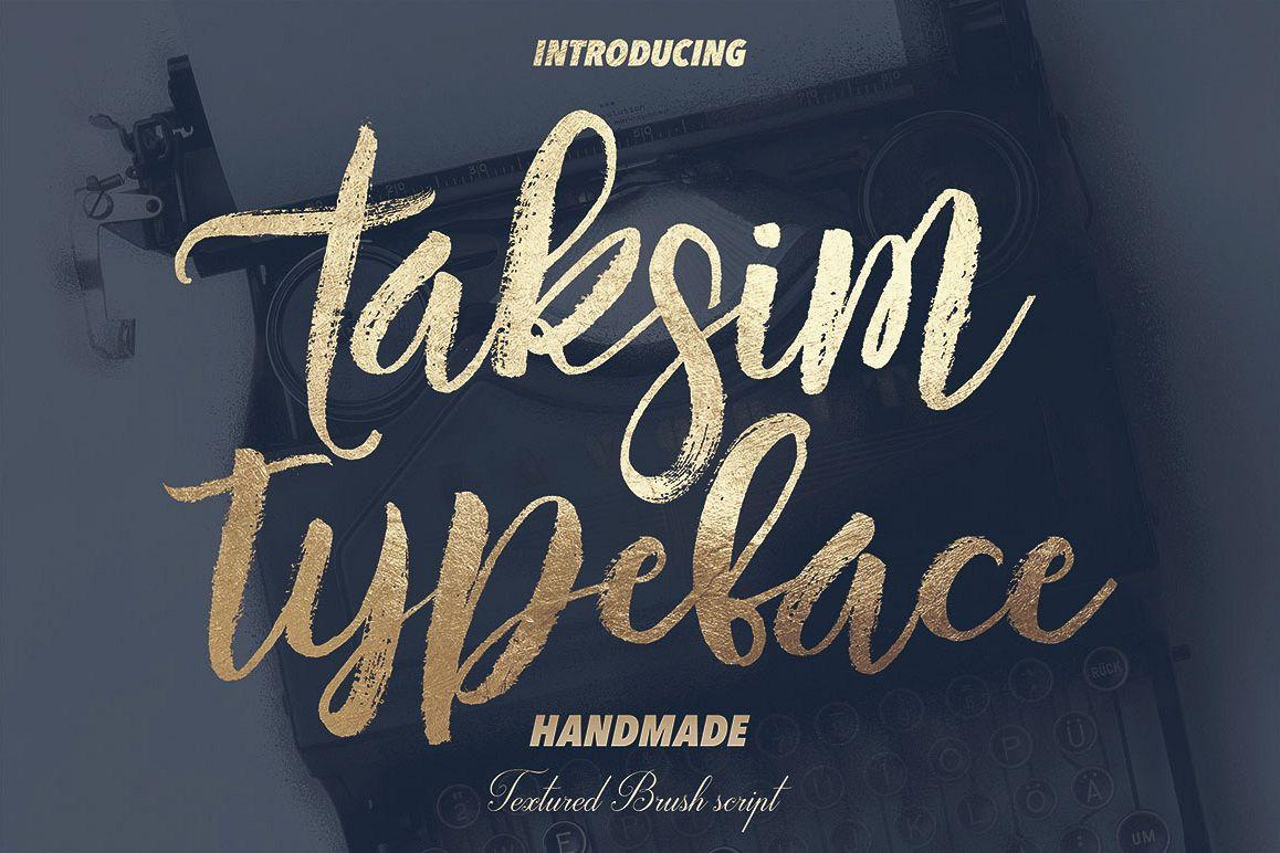Taksim Typeface example image 1