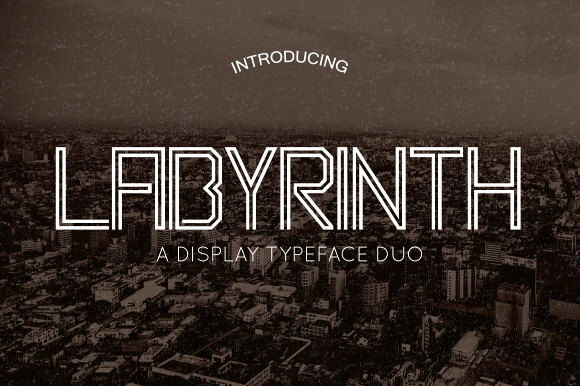 Labyrinth Typeface example image 1