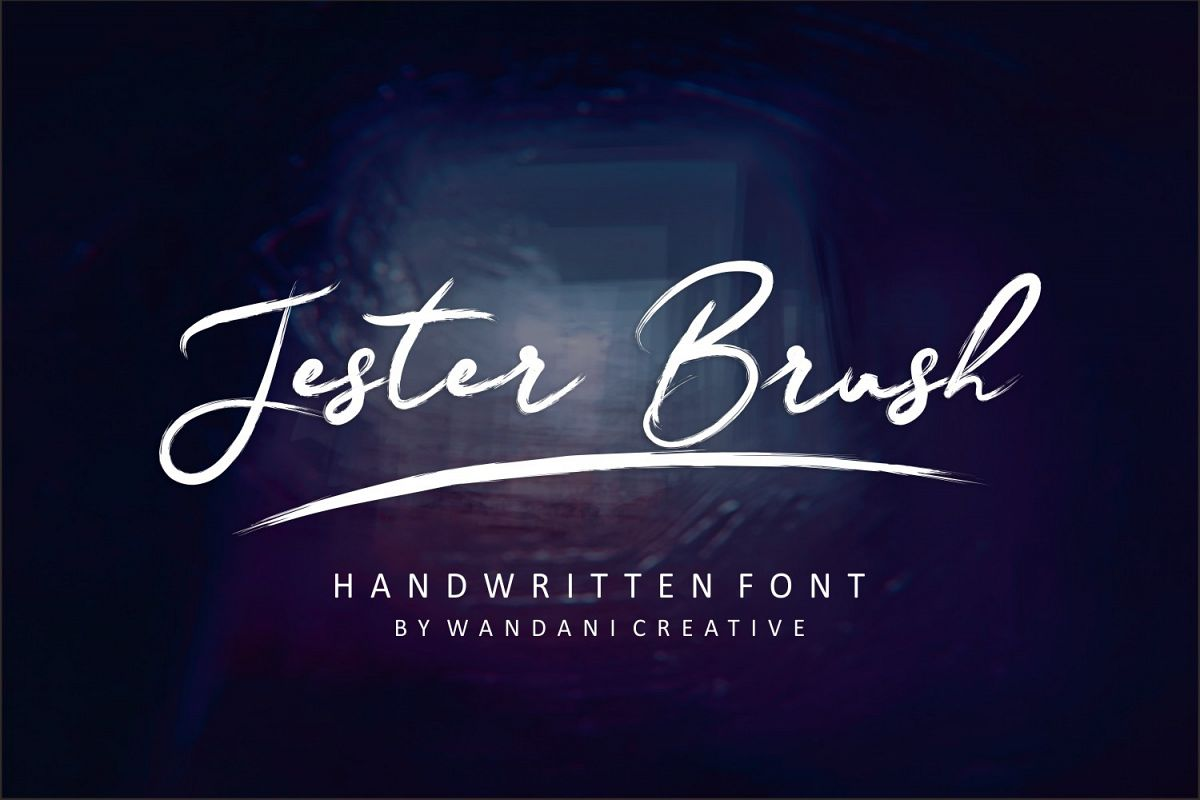 Jester Brush example image 1