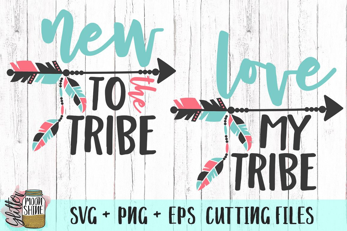 Download Love My Tribe Bundle SVG PNG EPS Cutting Files (28449 ...