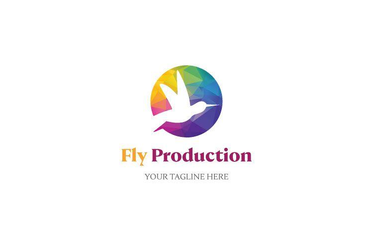Bird Flying Logo example image 1