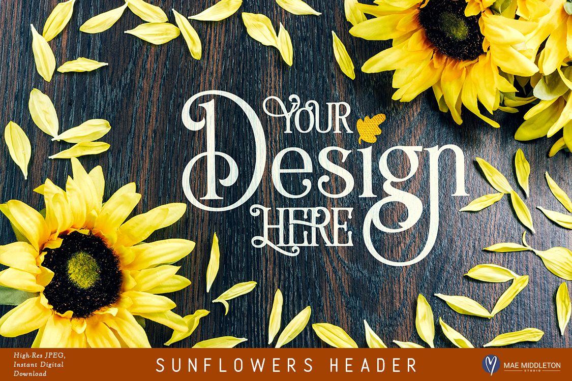 Sunflowers Header example image 1