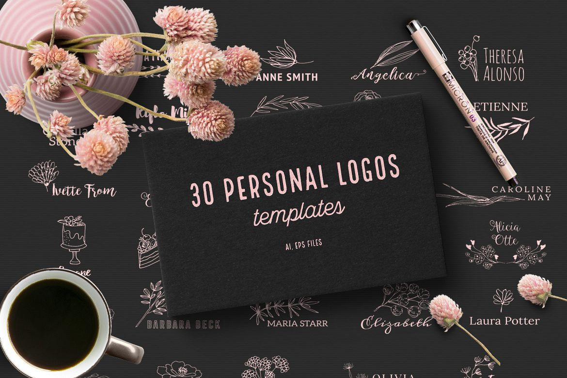 30 Personal Logos example image 1