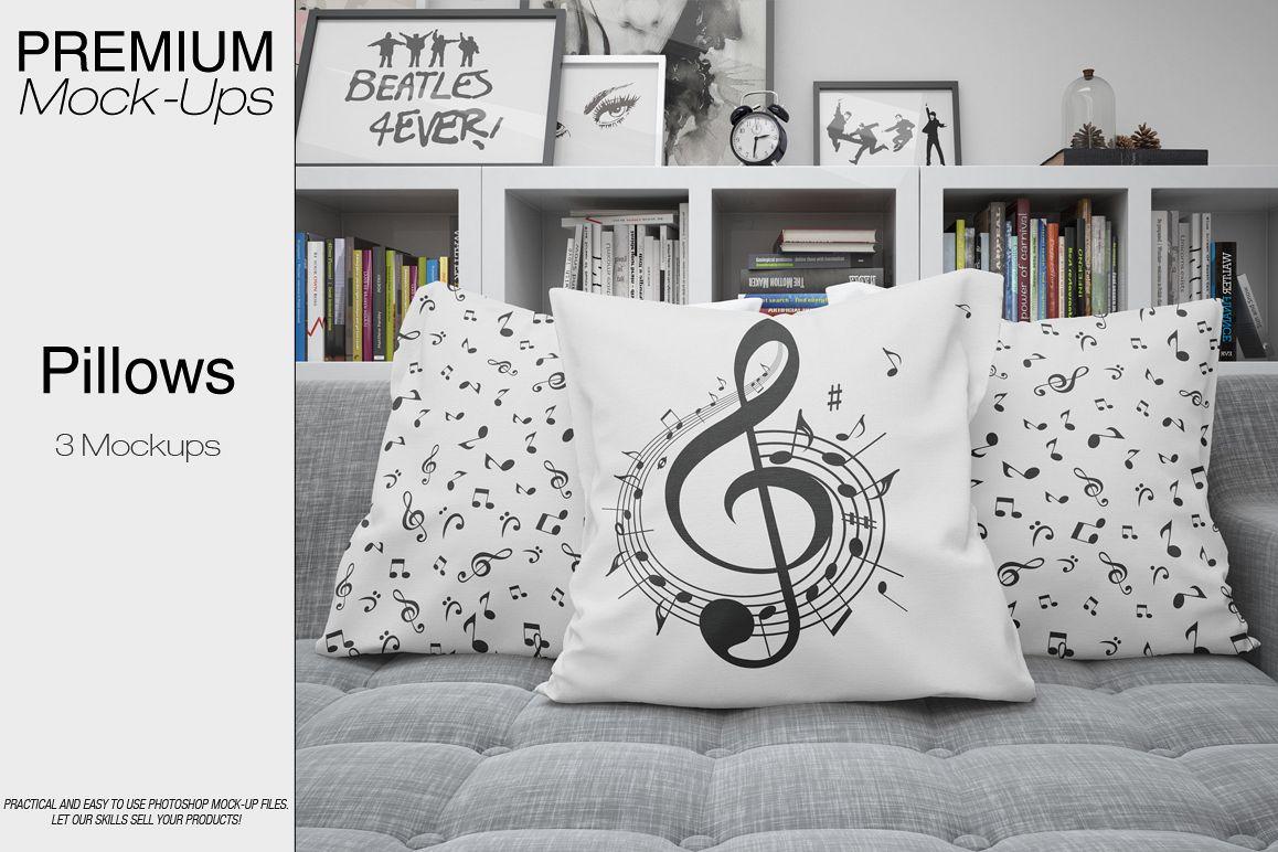 Pillows Mockup Set example image 1