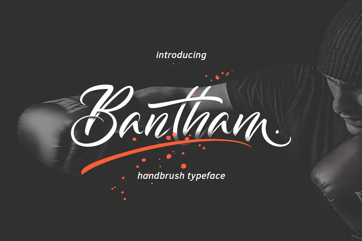 Bantham Typeface example image 1