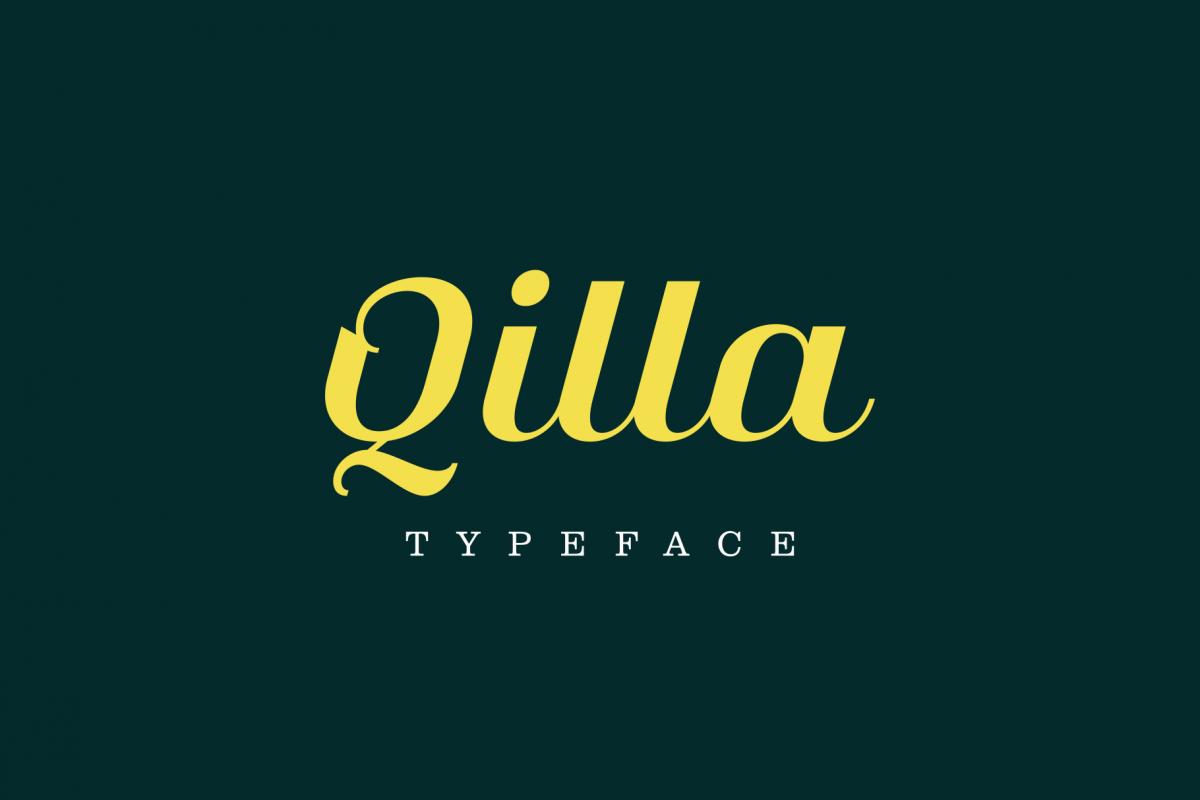 Qilla Typeface example image 1