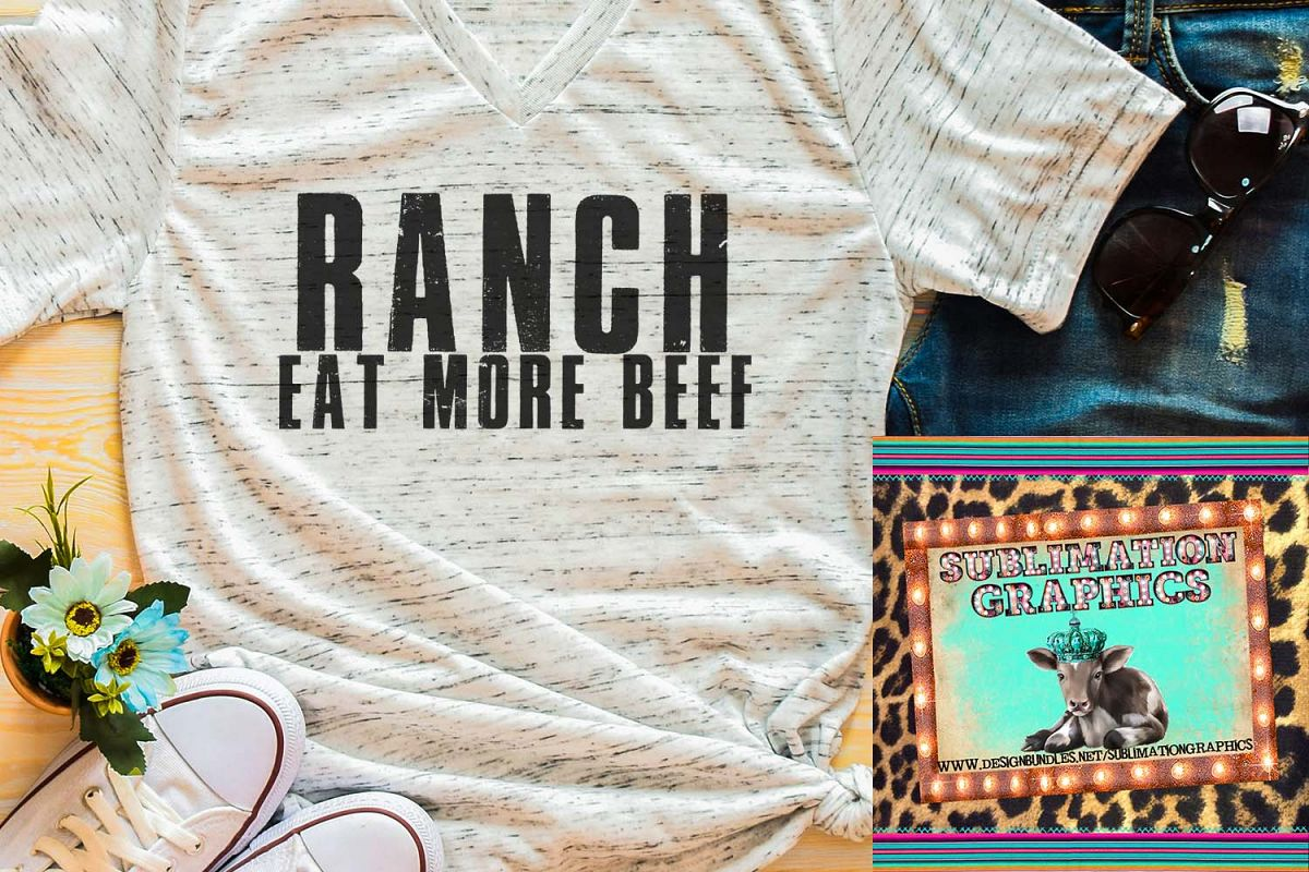Ranch Sublimation Digital Download example image 1