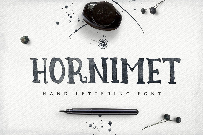 Hornimet Font example image 1
