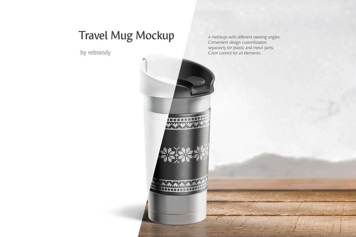 Travel Mug Mockup example image 1
