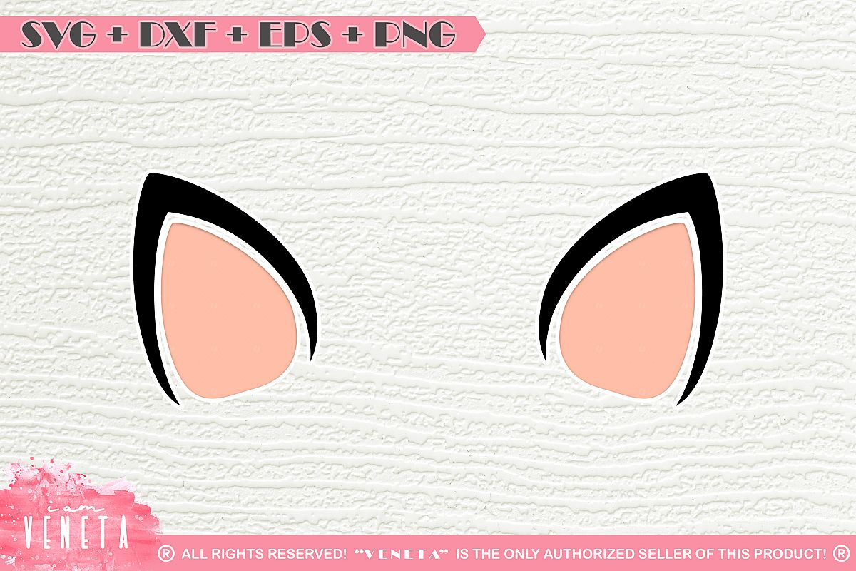 Unicorn Ears | Horse Ears | SVG DXF EPS PNG | Cutting File