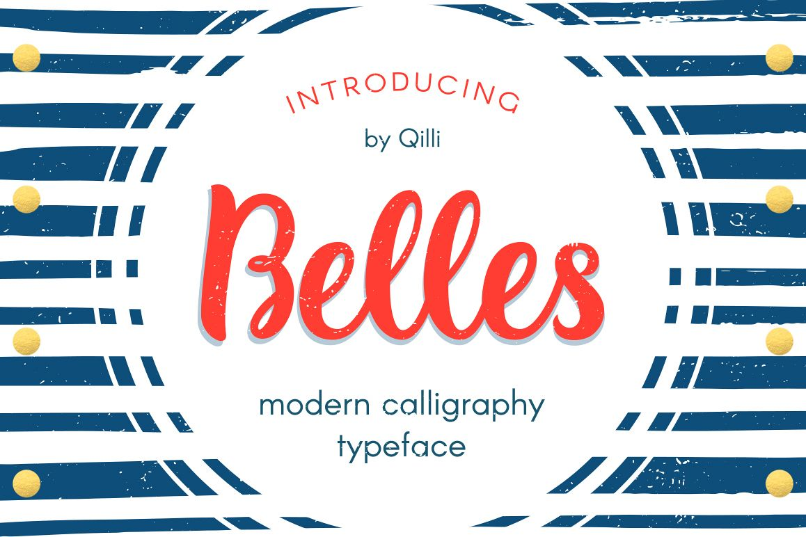 Belles Script - Modern Romantic Font example image 1
