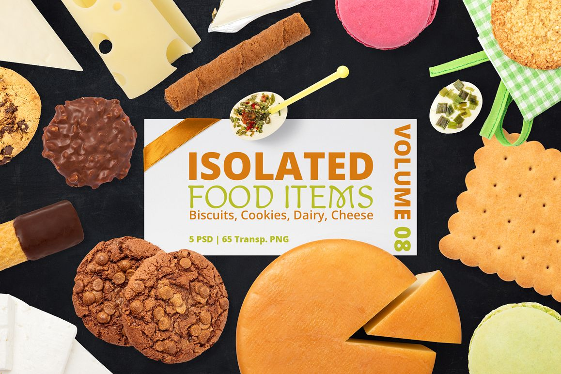 Isolated Food Items Vol.8 example image 1