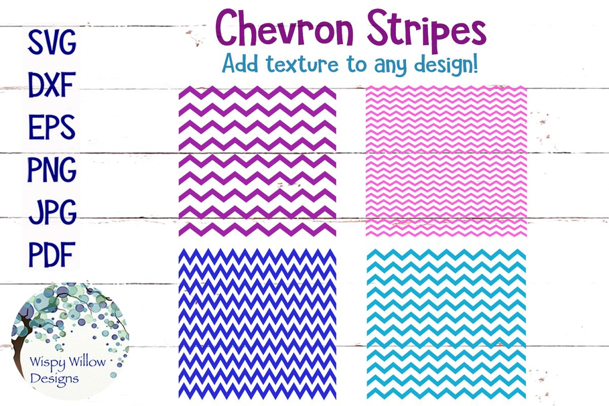 Chevron Stripes SVG Bundle example image 1