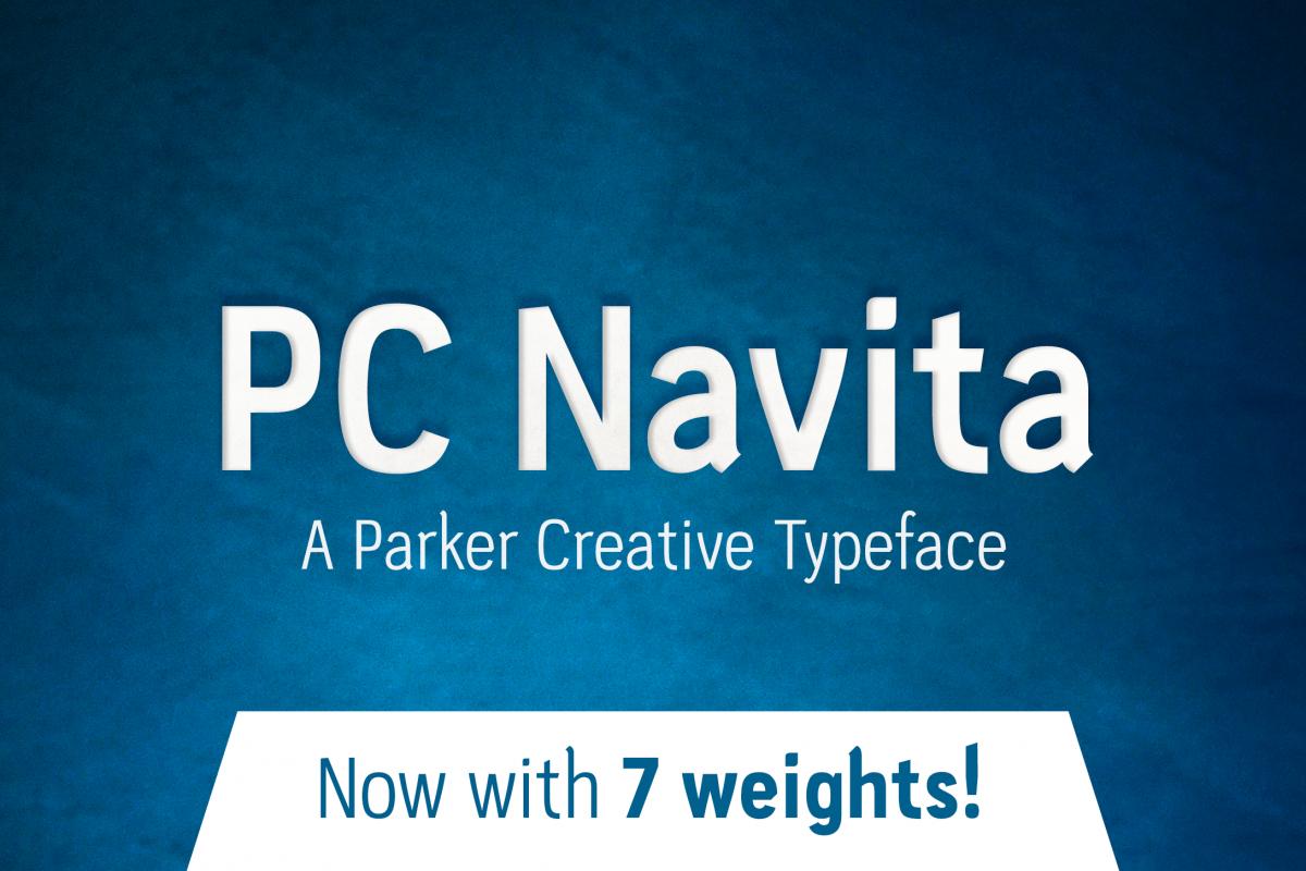 PC Navita Friendly Geometric Font example image 1