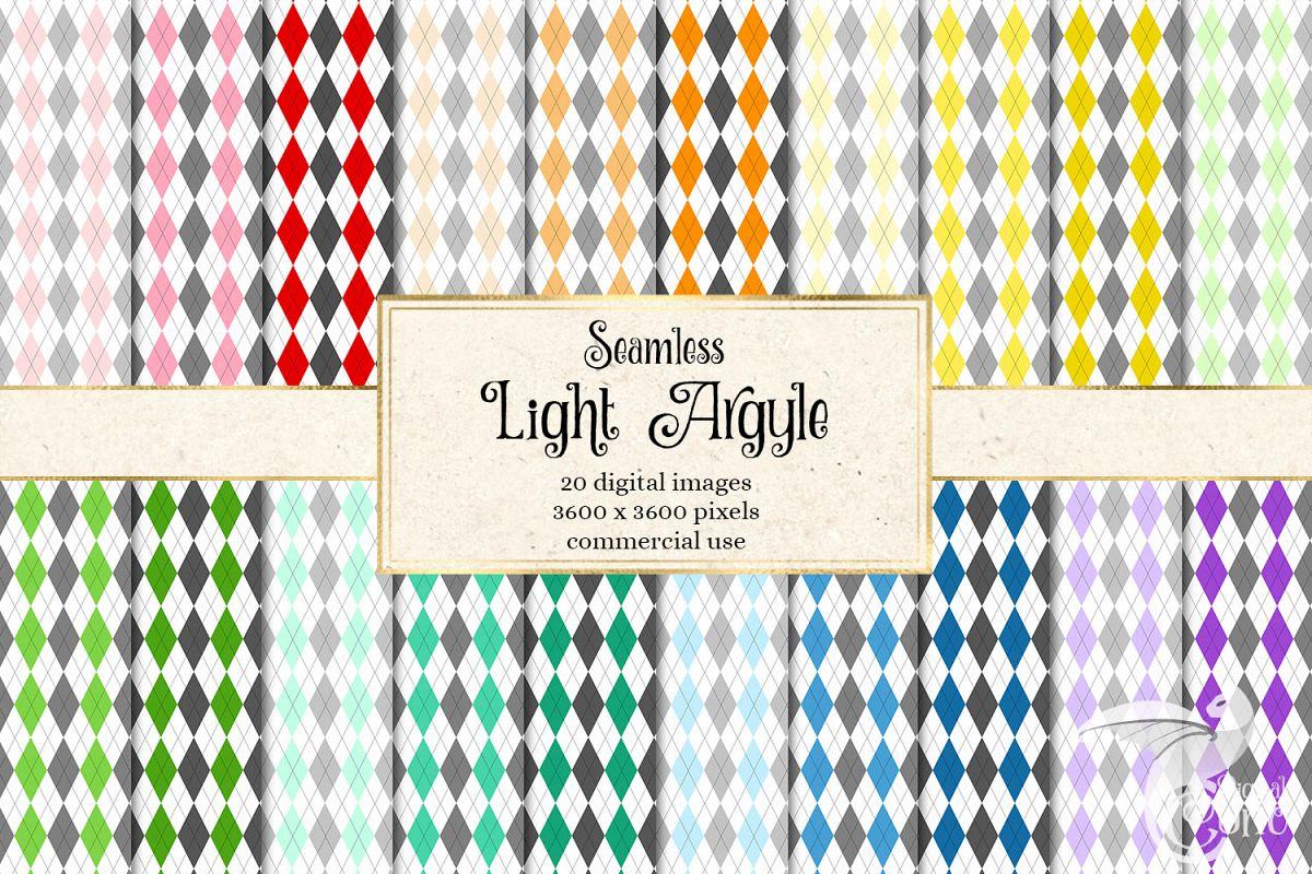 Light Argyle Patterns example image 1