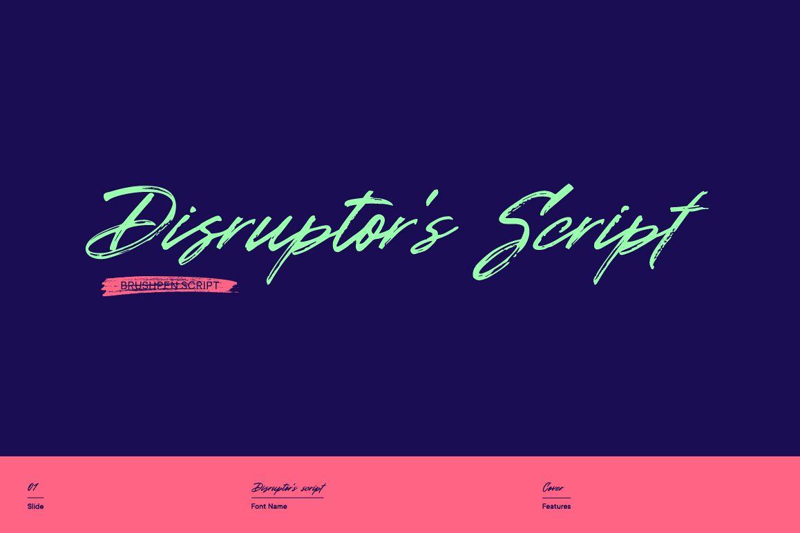 Disruptor's Script example image 1