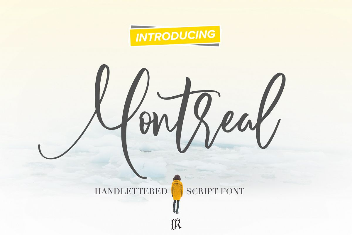 Montreal Script Font example image 1