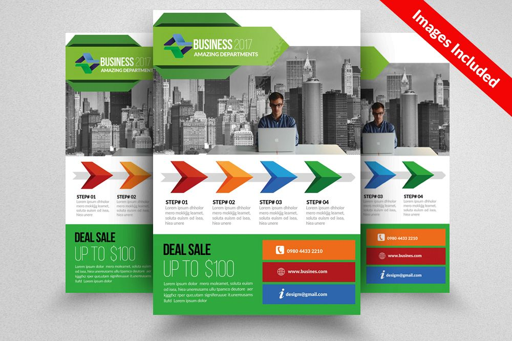 Marketing Consultant Flyer Templates example image 1