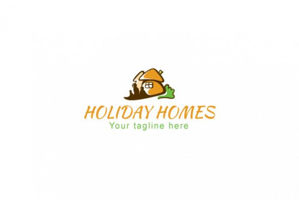 Holiday Homes - Illustrative Stock Logo Template example image 1