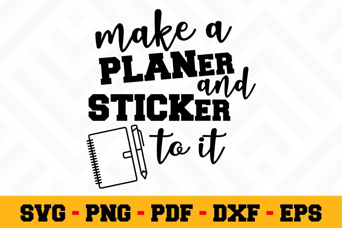 Planning SVG Design n491 | Planning SVG Planner File example image 1