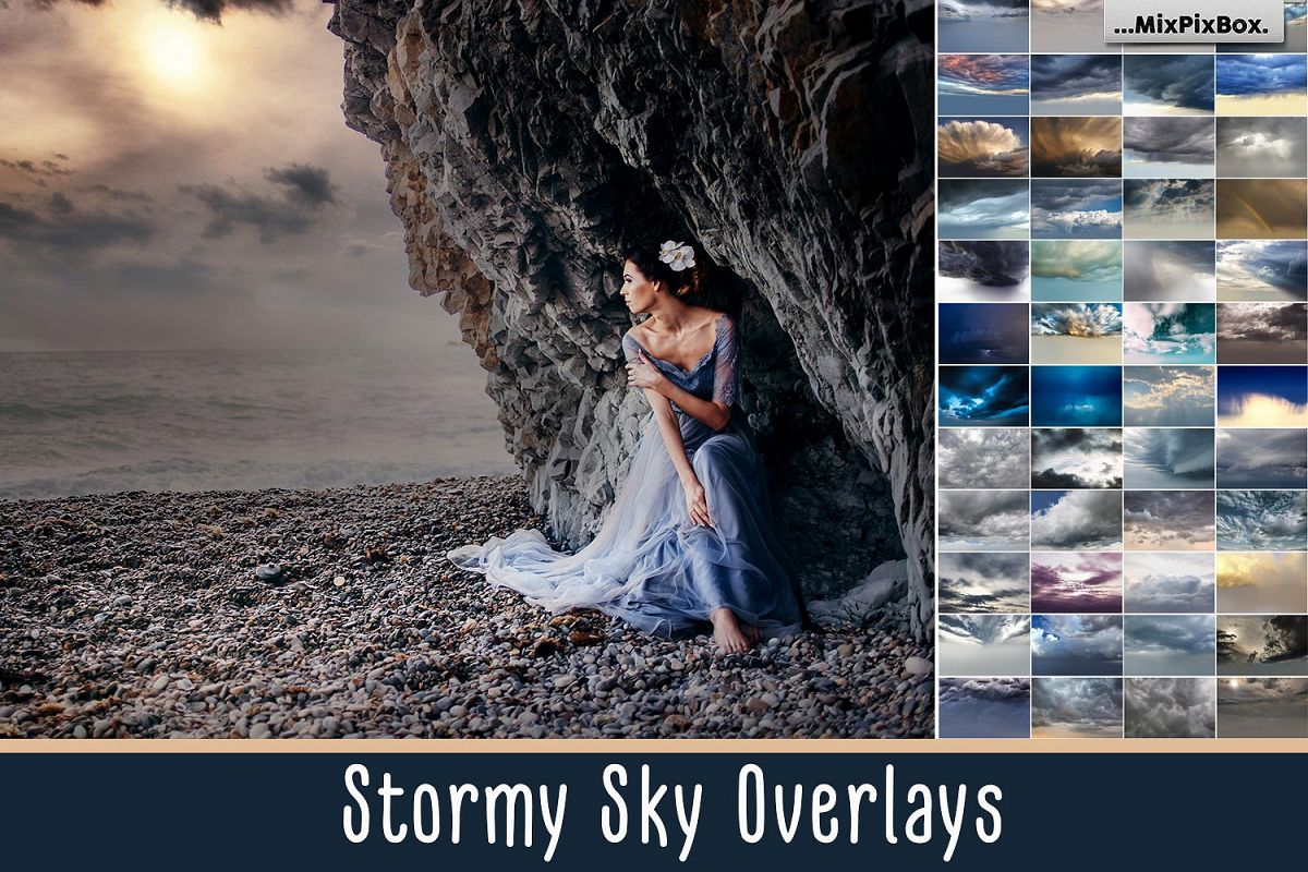 Stormy Sky Overlays example image 1